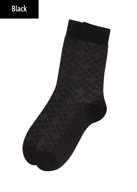 Носки мужские классические мужские носки elegant 203 вид 2