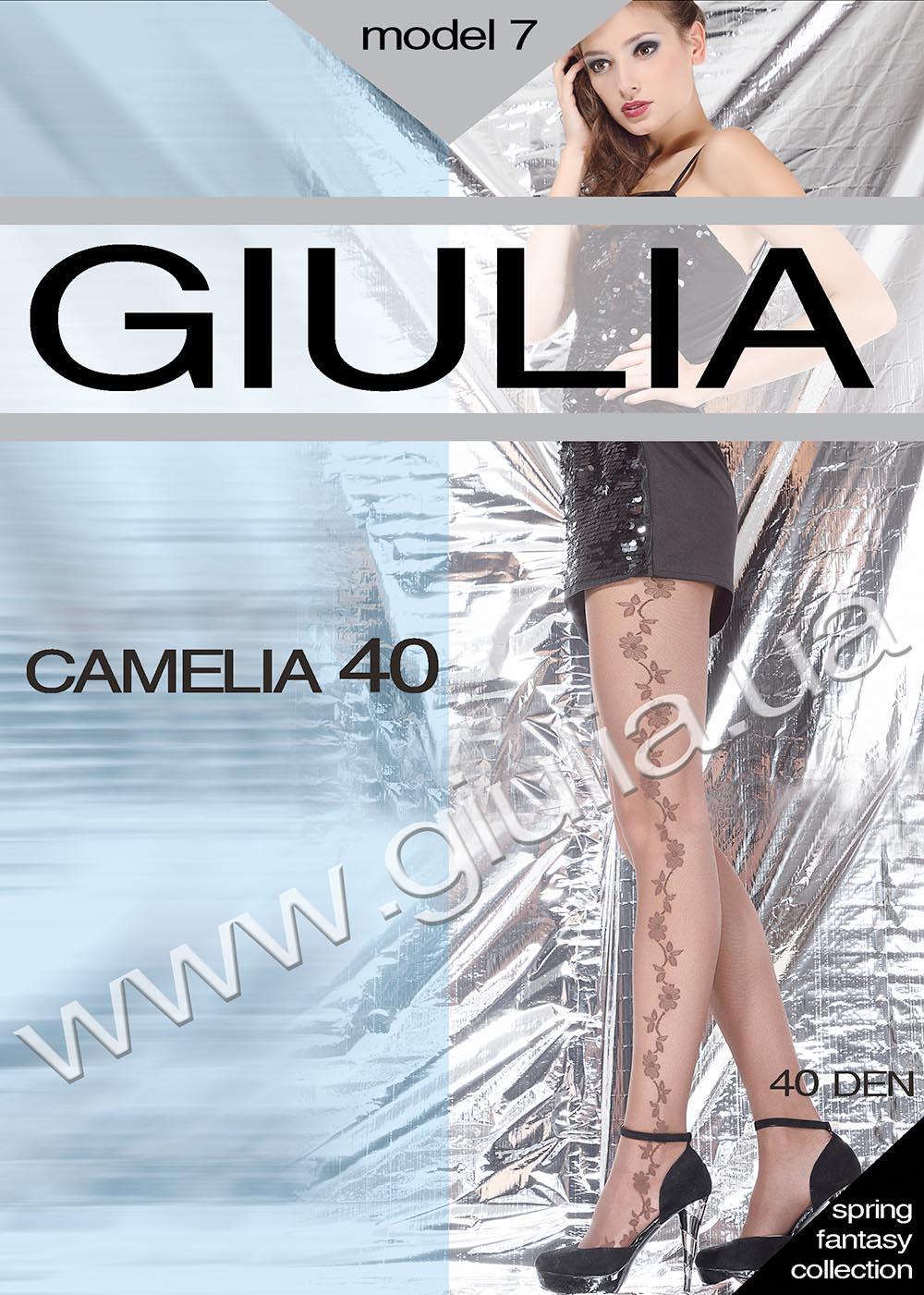 Колготки с рисунком CAMELIA 40 model 7