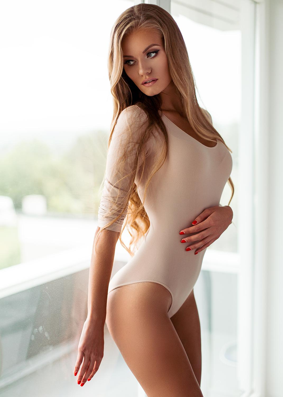 Боди женское Body scollo ampio manica lunga вид 1