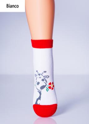 Дитячі шкарпетки з малюнком жирафа TM GIULIA KSL-003 calzino