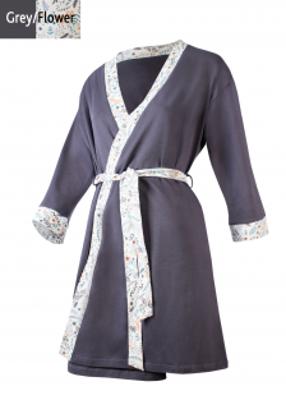 женский длинный халат на запах TM GIULIA MELODY 7204/010