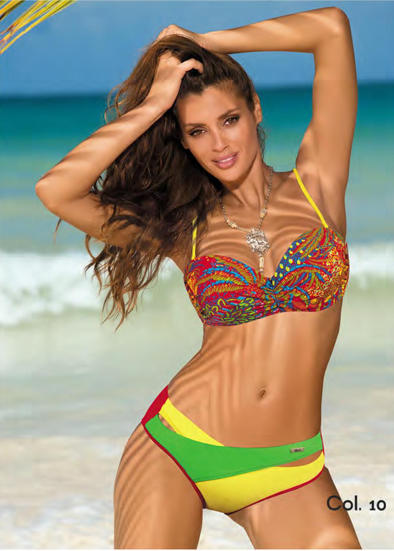 Раздельные купальники разноцветный купальник с5702 377 margaret