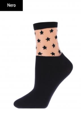 Жіночі шкарпетки з зірками TM GIULIA WSM-006 calzino