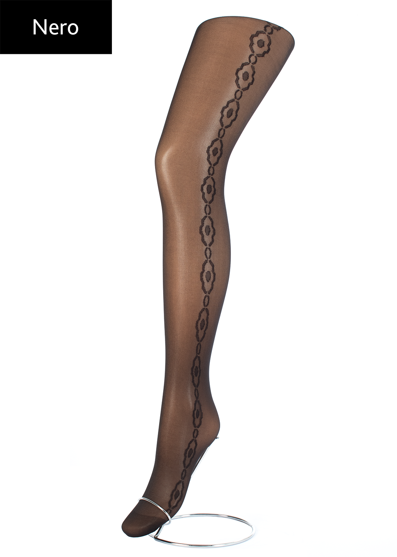 Колготки с рисунком Flory 40 model 7 вид 3