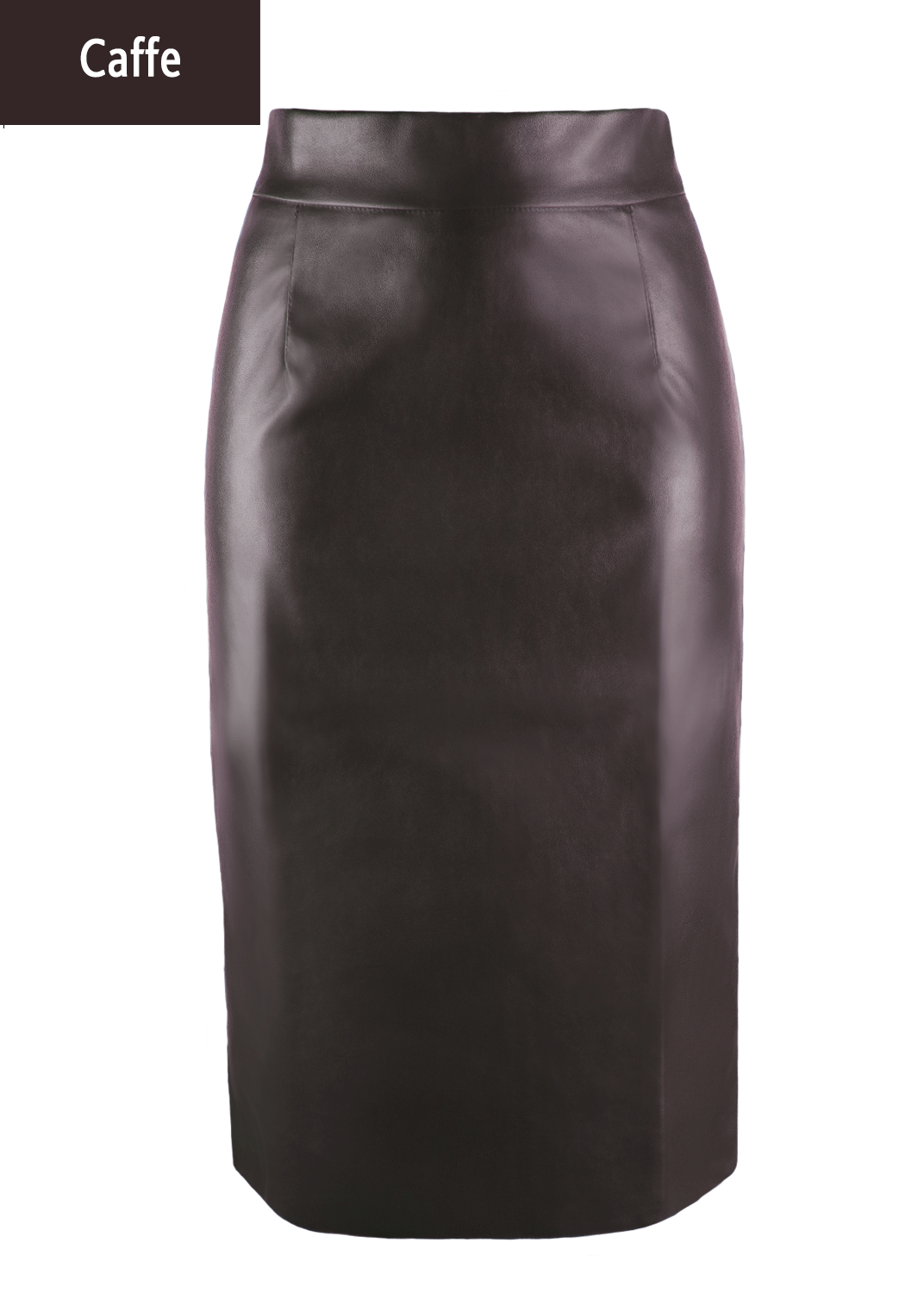 Юбки Pencil skirt leather model 1 вид 5