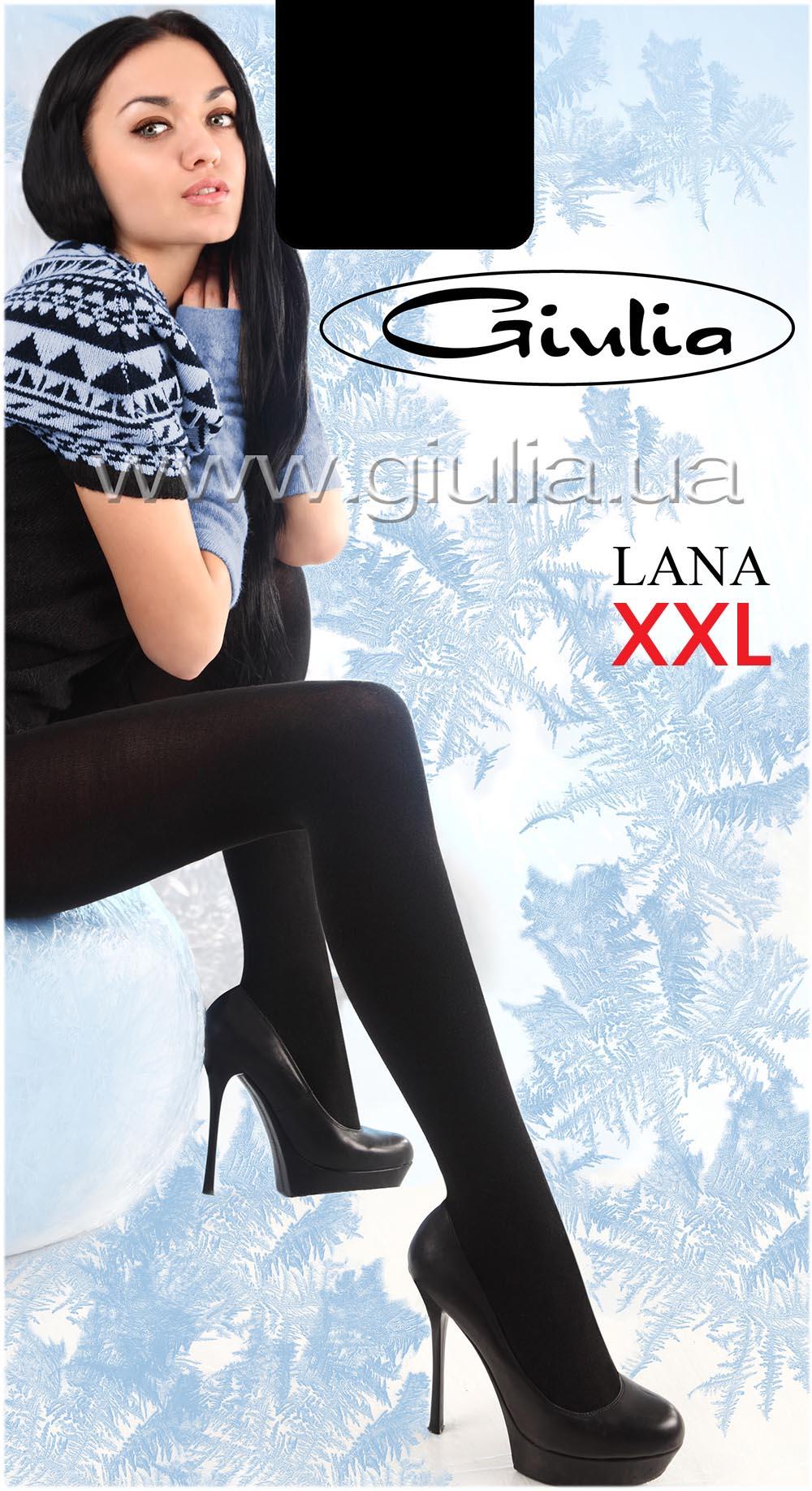 Теплые колготки LANA 150 XXL