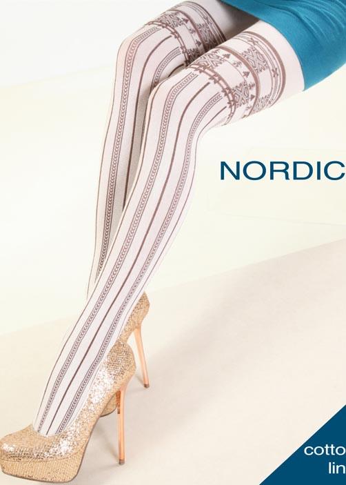 Колготки с рисунком NORDIC 150 model 7