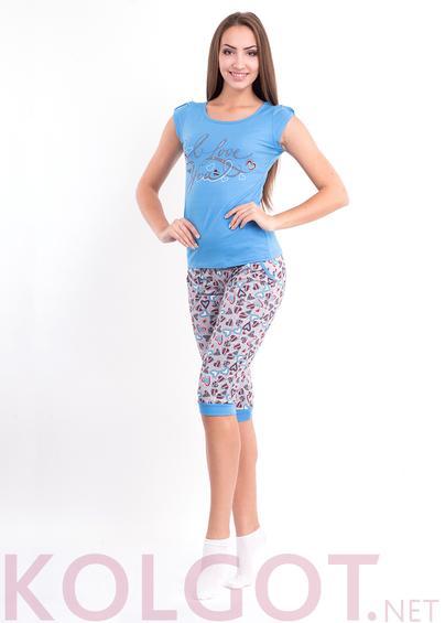 Одежда для дома и отдыха Домашний комплект джемпер+бриджи Amorousness 02102- купить в Украине в магазине kolgot.net (фото 1)