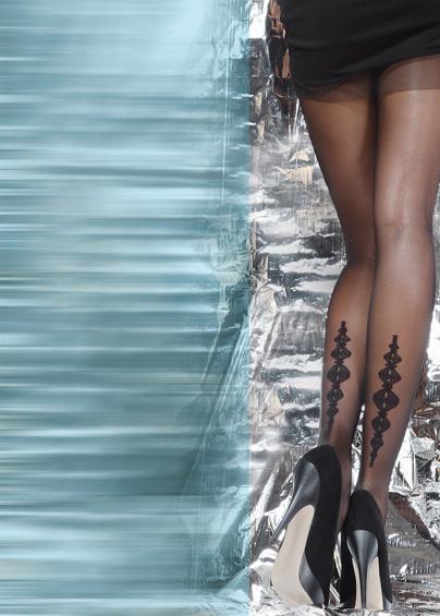 Колготки с рисунком FLY 20 model 10 <span style='text-decoration: none; color:#ff0000;'>Распродано</span>- купить в Украине в магазине kolgot.net (фото 1)