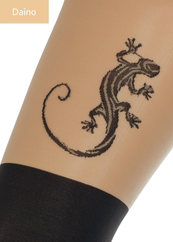 Колготки с рисунком Pari tatoo 60 model 8 вид 1