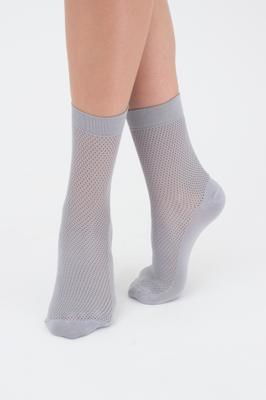 Классические женские носки в мелкую сеточку TM GIULIA TR-03 calzino