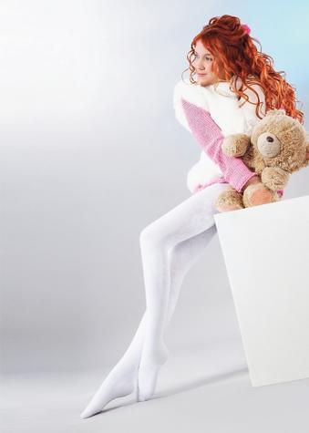 теплые махровые колготки для девочек TM GIULIA MERRY 250