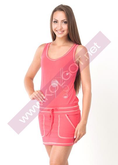 Домашняя одежда Домашний сарафан Sundress 01006 В- купить в Украине в магазине kolgot.net (фото 1)