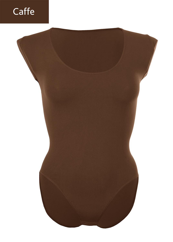 Боди женское Body scollo ampio manica lunga вид 17