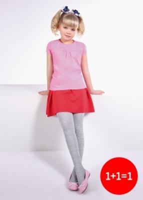 детские колготки с объемным рисунком TM GIULIA BONNY 80 model 13