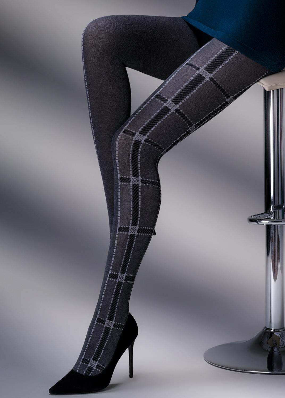 Теплые колготки CLARA MELANGE 200model 1