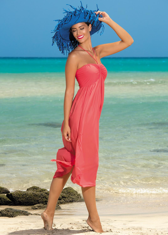 Пляжная одежда пляжное платье sukienka f43 вид 2