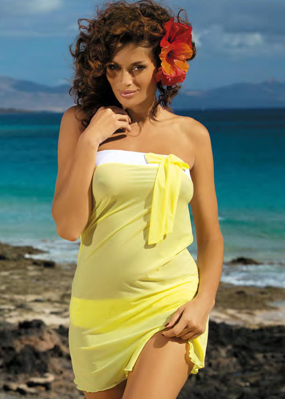 Пляжная одежда пляжное платье-парео п2323 241 mia вид 5