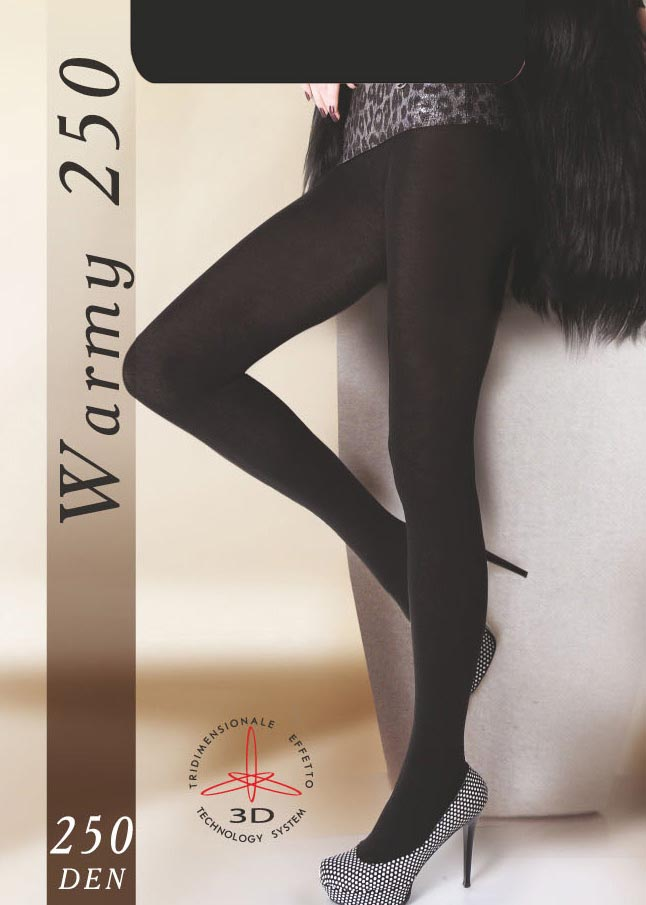Теплые колготки WARMY 250<span style='text-decoration: none; color:#ff0000;'>Распродано</span>