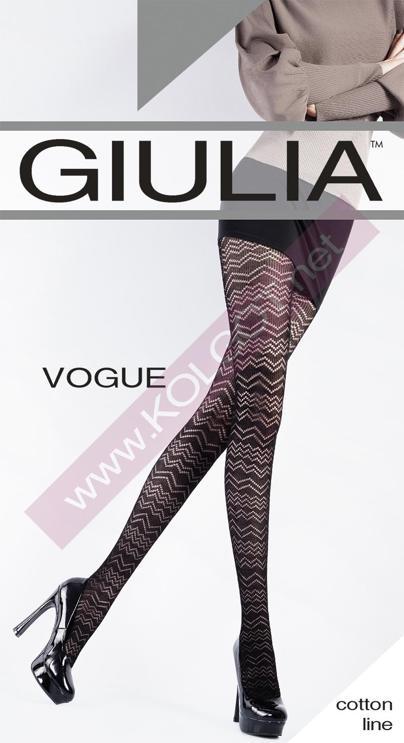 Колготки с рисунком VOGUE 120 model 4- купить в Украине в магазине kolgot.net (фото 1)