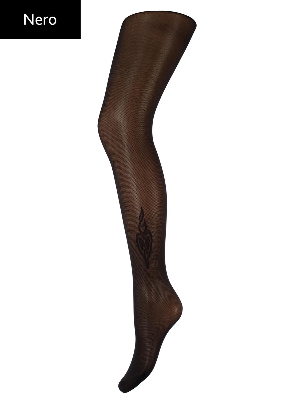 Колготки с рисунком Monica 40 model 2 вид 2