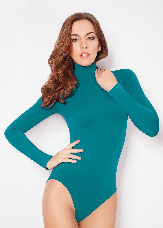 Боди женское Body lupetto manica lunga