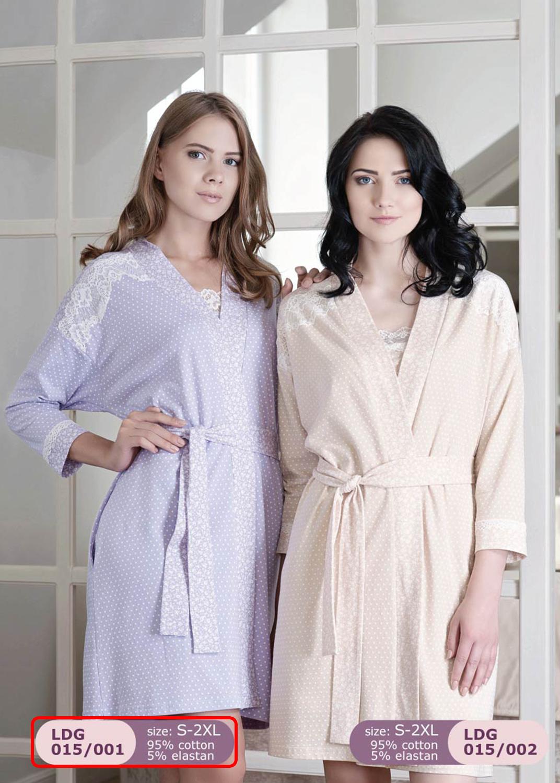 Домашняя одежда женский халат ldg 015/001