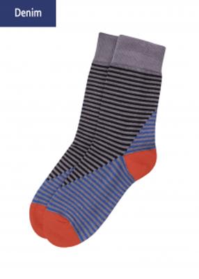 Мужские носки в полосочку TM GIULIA MSL-008 calzino