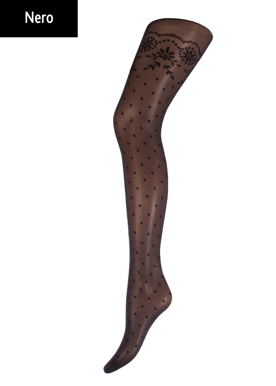 Колготки с рисунком Melissa 20 model 1 вид 1