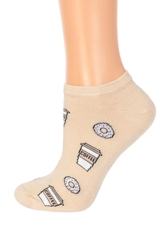 Носки женские носки coffee & donuts cs-14
