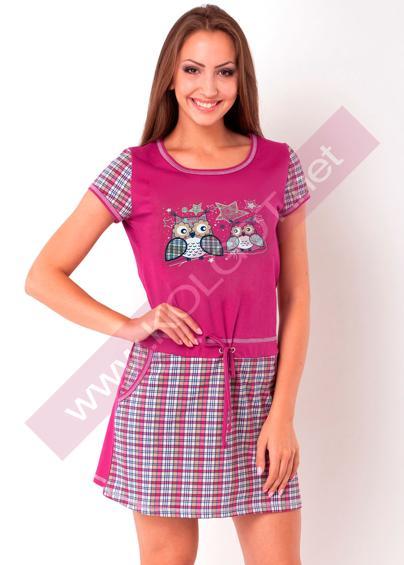 Домашняя одежда Домашнее платье Kittens 02303ПВ- купить в Украине в магазине kolgot.net (фото 1)