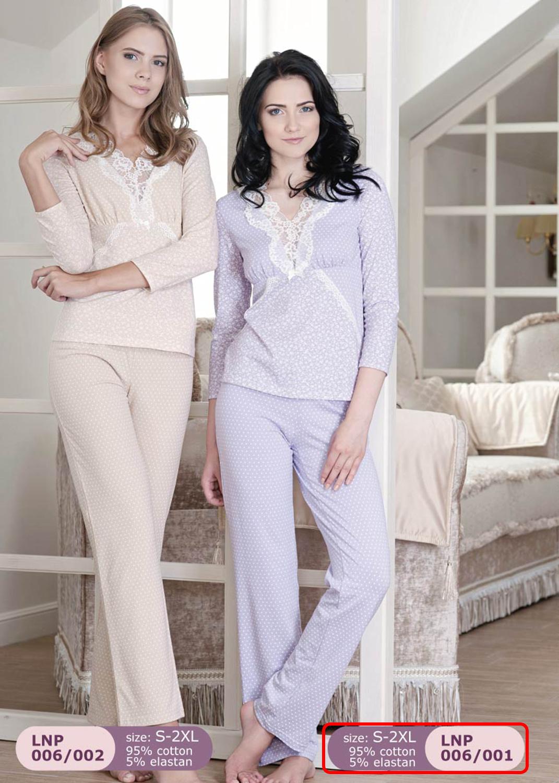 Домашняя одежда женская пижама lnp 006/001
