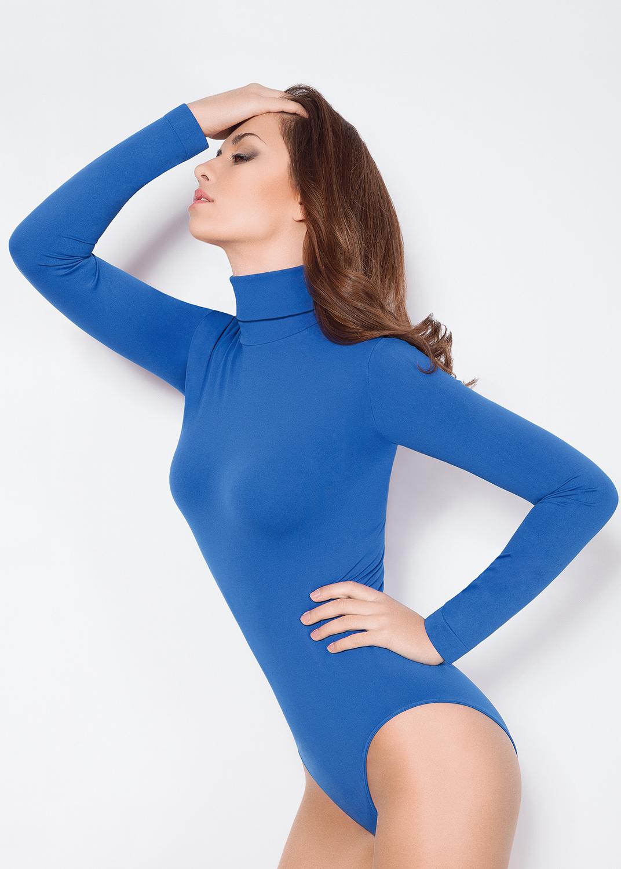 Боди женское Body dolcevita manica lunga
