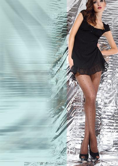 Колготки с рисунком OLIVIA 40 model 12- купить в Украине в магазине kolgot.net (фото 1)
