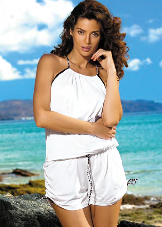 Пляжная одежда пляжный ромпер с1368 m312 leila вид 3