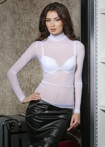 Домашняя одежда 6291 джемпер женский сетка Anabel Arto - купить в Украине в магазине kolgot.net (фото 1)