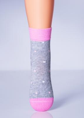 Детские носки в горох TM GIULIA KSL-010 MELANGE calzino