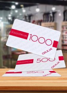 Купить Подарочный сертификат на 1000 грн  (фото 1)
