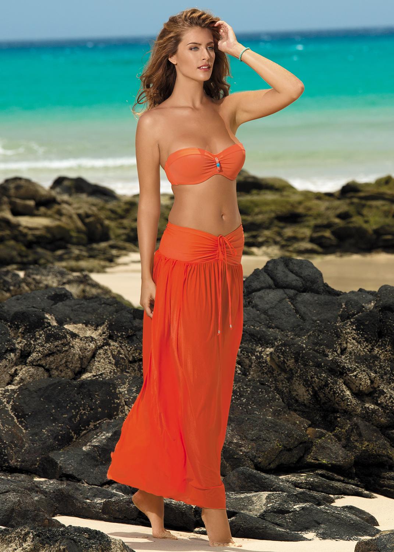 Пляжная одежда пляжное платье sukienka f43 вид 1