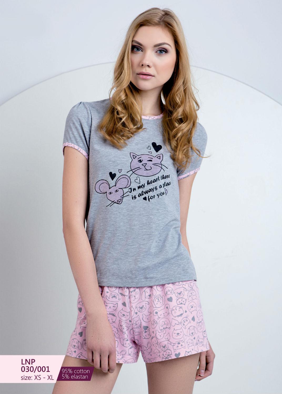Домашняя одежда пижама женская lnp 030/001