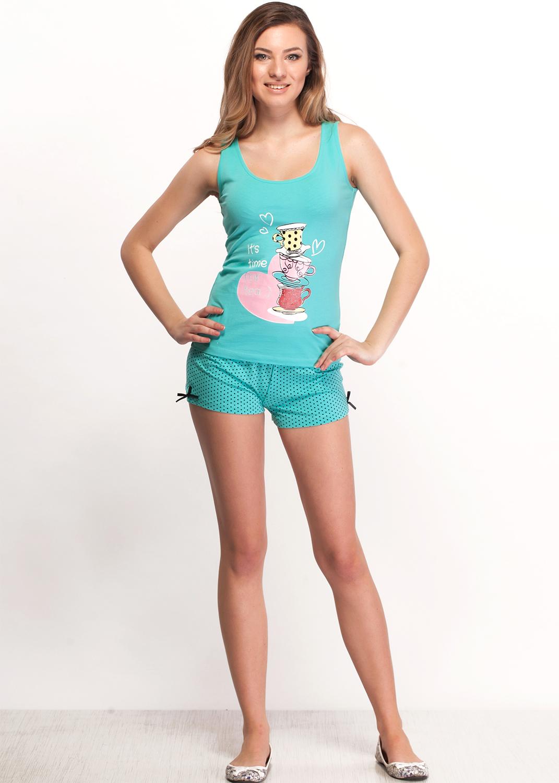 Домашняя одежда костюм-пижама 01702пв
