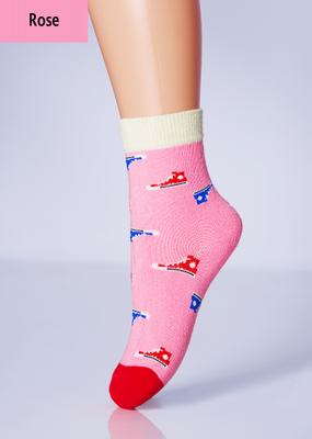 Детские носки с нарисоваными кедами TM GIULIA KSL-008 calzino