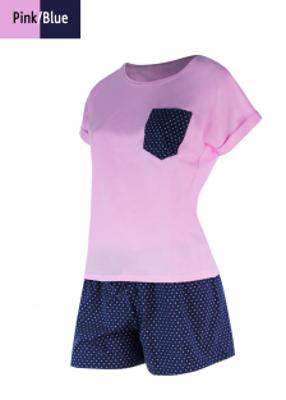 комплект (футболка с шортами) для домашнего отдыха TM GIULIA CONFETTI 6101/010