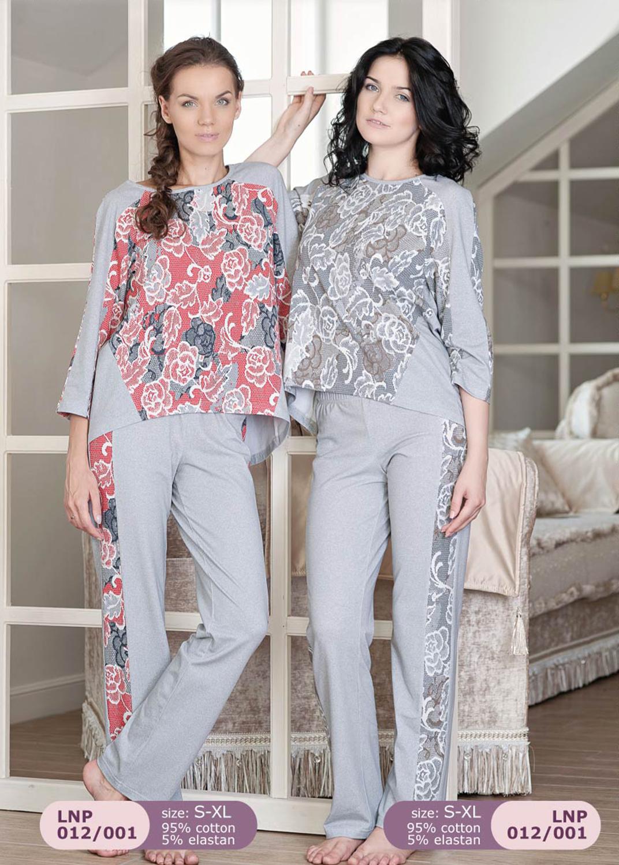 Домашняя одежда женская пижама lnp 012/001