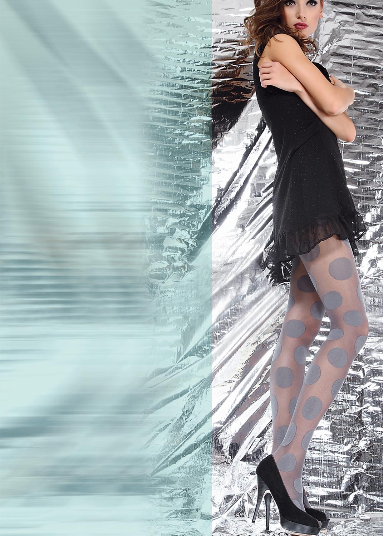 Колготки с рисунком Olivia 40 model 10