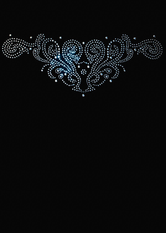 Водолазка женская Lupetto manica lunga strass s 006 вид 1