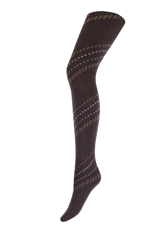 Теплые колготки CLARA MELANGE 200model 3 вид 3