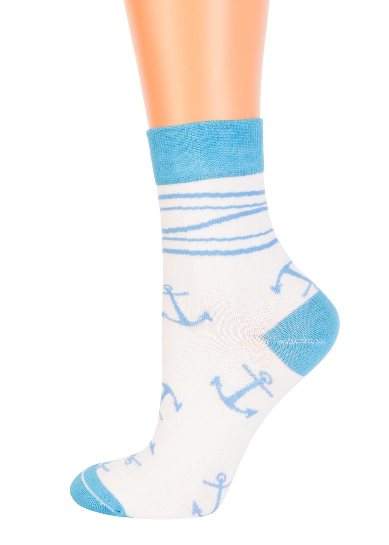 Носки женские Носки с якорями cl-37