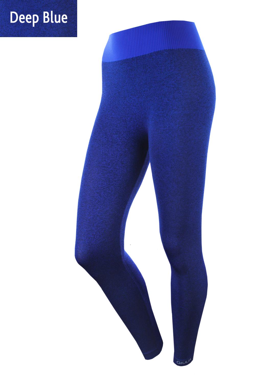 Леггинсы женские Leggings sport melange color вид 3