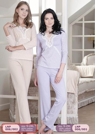 Домашняя одежда LNP 006-002 - купить в Украине в магазине kolgot.net (фото 1)